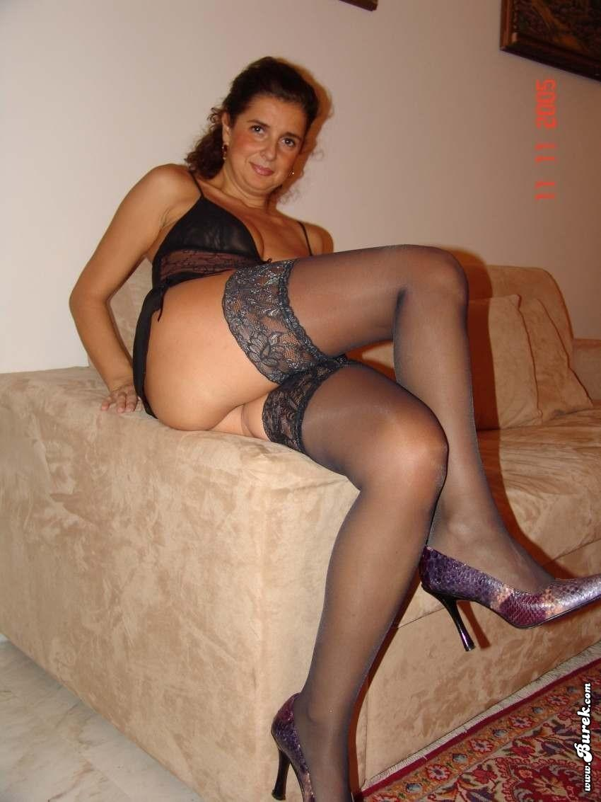 woman in sexy lingerie amature